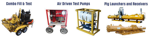 Hydrostatic Testing Systems